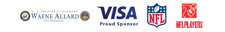 "Former Denver Broncos All-Pro Linebacker Karl Mecklenburg Joins Senator Wayne Allard and Visa Inc. for Statewide Launch of ""Financial Football"""